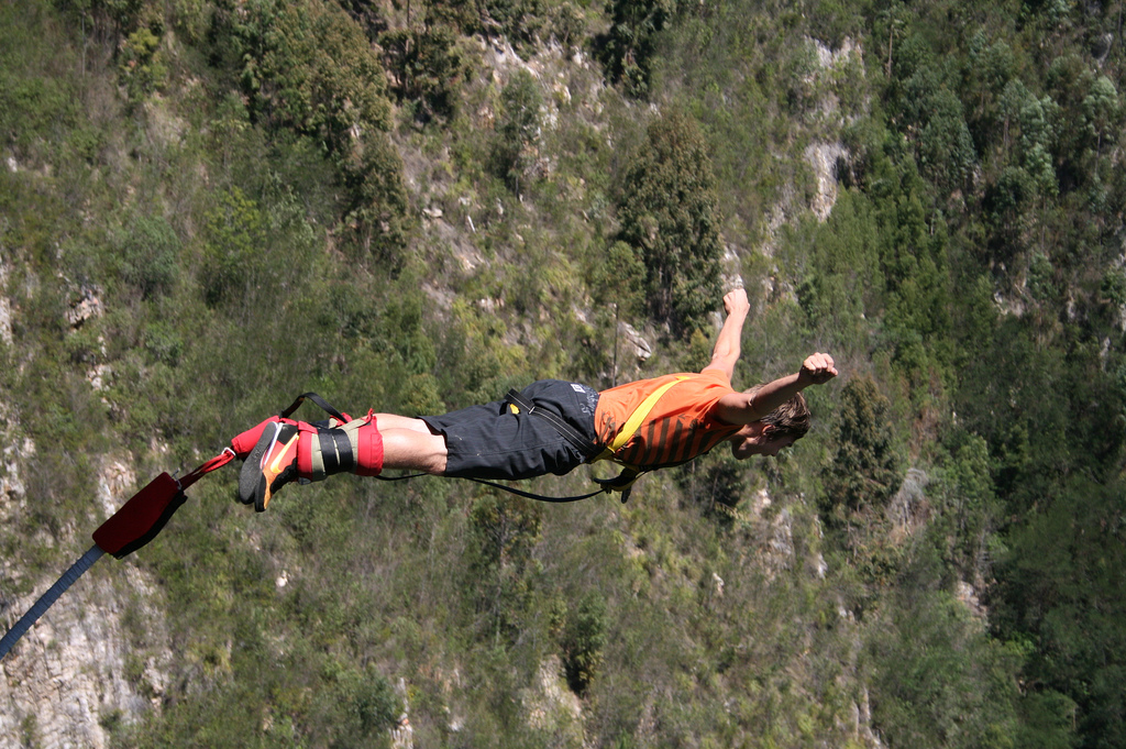 bungee jumping garden route