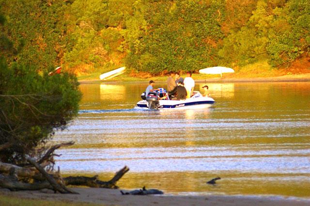 motorboating sedgefield